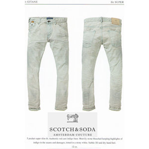 SCOTCH White Trip Denim