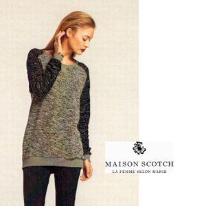 MAISON Dress bouclesweater