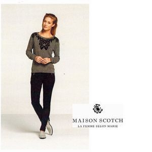 MAISON.quilted sweat