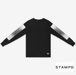 STAMPD DRESDEN L/SWITH PRINT
