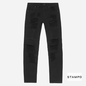 STAMPD DISTRESSEDDENIM