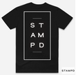 STAMPD Stacked logoTee