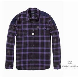 SCOTCH CheckFlannelShirt