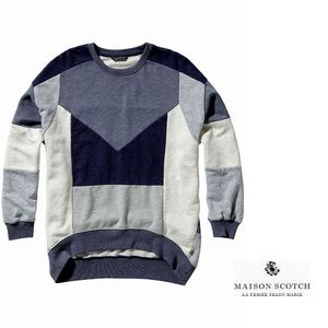 MAISON PatchworkSweater