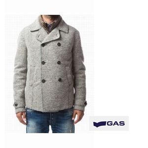 GAS Boiled wool P-coat