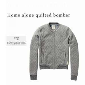 SCOTCH quilted bomber