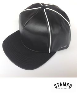 STAMPD WHITE PIPING CAP
