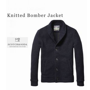 SCOTCH Wool Bomber JKT
