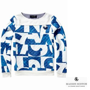 MAISON QuiltedSweater
