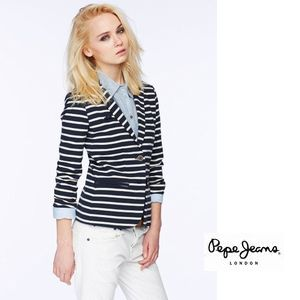 PePeJeans ボーダーテーラード